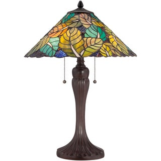 Tiffany Payne with Russet Finish Desk Lamp