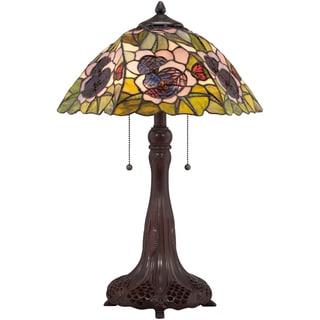 Tiffany Greene with Russet Finish Desk Lamp