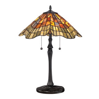 Tiffany Sanders with Vintage Bronze Finish Table Lamp
