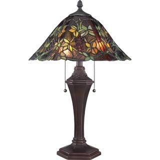 Tiffany Liana with Russet Finish Table Lamp