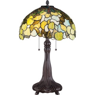 Tiffany Riverbank with Russet Finish Table Lamp