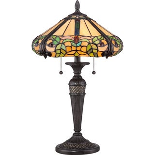 Tiffany Harland with Imperial Bronze Finish Table Lamp