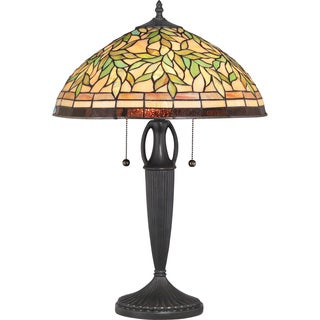 Tiffany Woodward with Vintage Bronze Finish Table Lamp