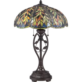 Belle with Imperial Bronze Finish Table Lamp