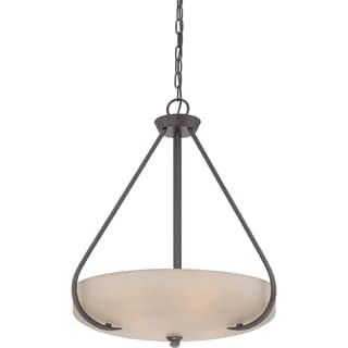Radcliff with Western Bronze Finish 4-light Pendant