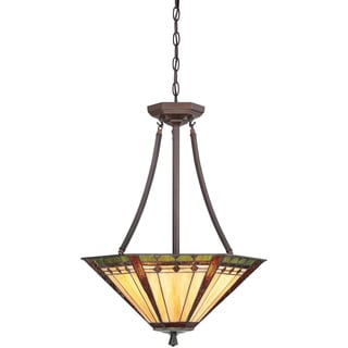 Arden with Russet Finish 3-light Pendant