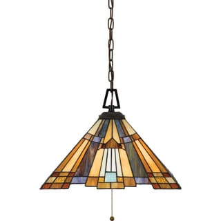 Inglenook with Valiant Bronze Finish 3-light Pendant