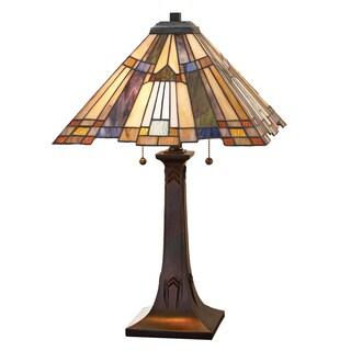 Copper Grove Cornelius Bronze-finished Table Lamp