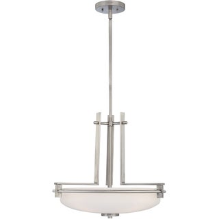 Taylor Antique Nickel Finish 4-light Modern Pendant