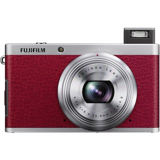 FujiFilm XF1 12MP Red Digital Camera