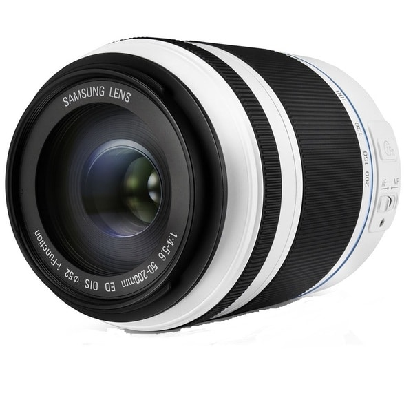 Samsung 50-200mm f/4.0-5.6 ED OIS II White Lens (New Non Retail Packaging)