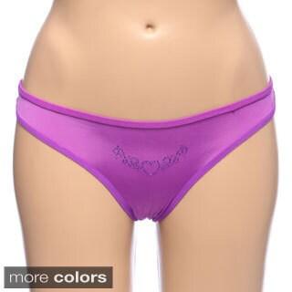 Baby rib brazilian bikini panty one could