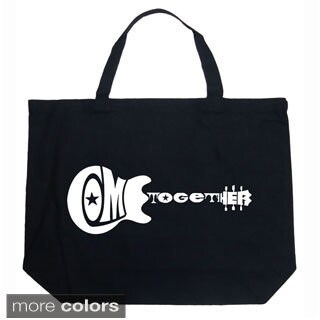 LA Pop Art Come Together Shopping Tote Bag