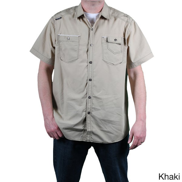 MO7 Men's Short Sleeve Poplin Shirt