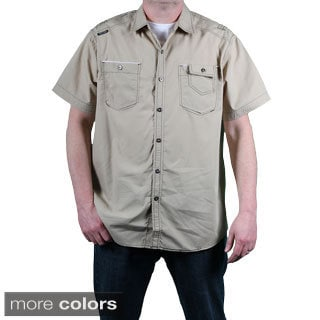 MO7 Men's Short Sleeve Poplin Shirt