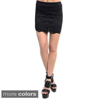 Feellib Women's Cute Stylish Mini Skirt