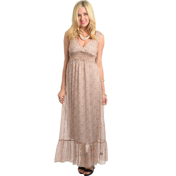 Shop The Trends Women's Sassy Long Dress