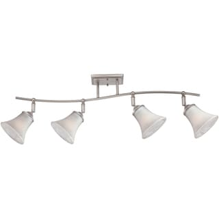 Duchess Antique Nickel Finish 4-light Fixed Track Light