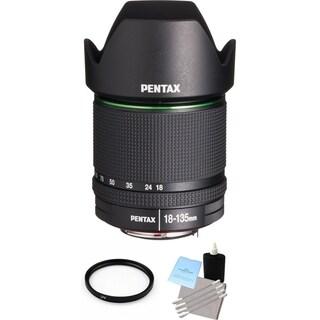Pentax SMC DA 18-135mm F/3.5-5.6 ED AL (IF) DC WR Lens Bundle