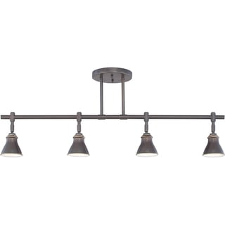 Quoizel Denning 4-light Palladian Bronze Finish Fixed Track Light