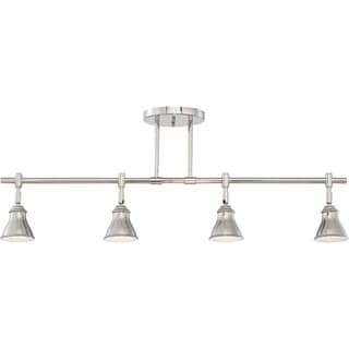 Quoizel 4-light Denning Imperial Silver Finish Fixed Track Light