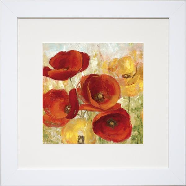 Flourishing Meadows I' by Nan Framed Art Print