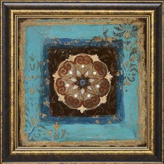 Exotic Medallion II' by Tava Studios Framed Art Print