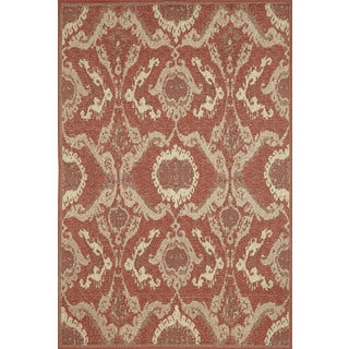 Ethnic Outdoor Area Rug (4'11 x 7'6)