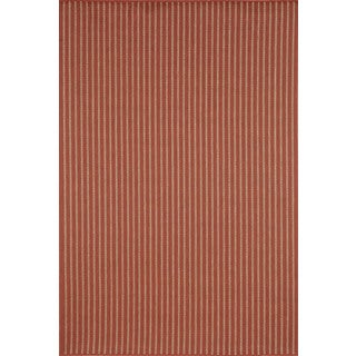Vertical Stripe Outdoor Area Rug (4'11 x 7'6)