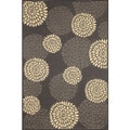Multi Floral Outdoor Area Rug (4'11 x 7'6)