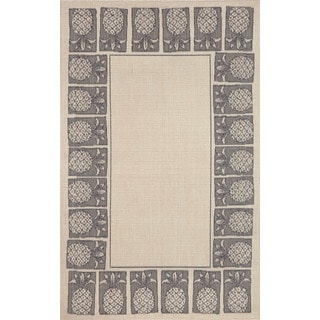 Fruit Border Outdoor Area Rug (4'11 x 7'6)