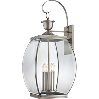 Oasis Extra Large 5-light Pewter Wall Lantern