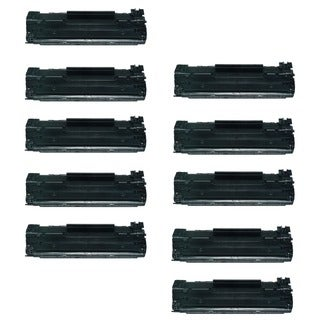 10-Pack HP 12A Q2612A Compatible Toner Cartridge For HP LaserJet 1012 1018 1020 1022 3050 M1319F