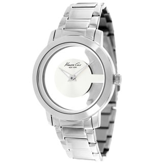 Kenneth Cole Women's KC4924 New York Round Silver Watch
