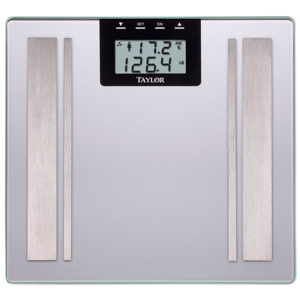 Taylor Silver Body Fat Digital Scale