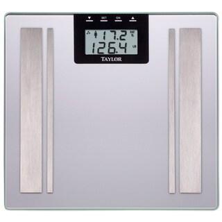 Taylor Silver Body Fat Digital Scale