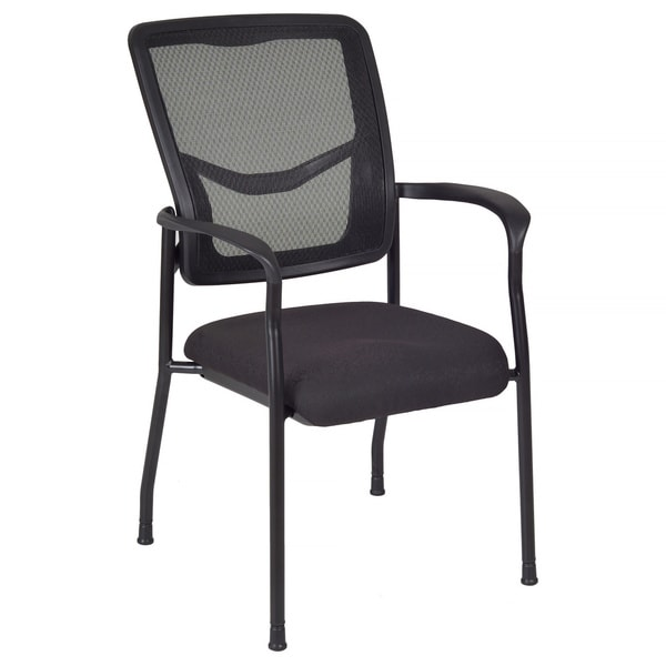 Kiera Black Mesh Side Chair