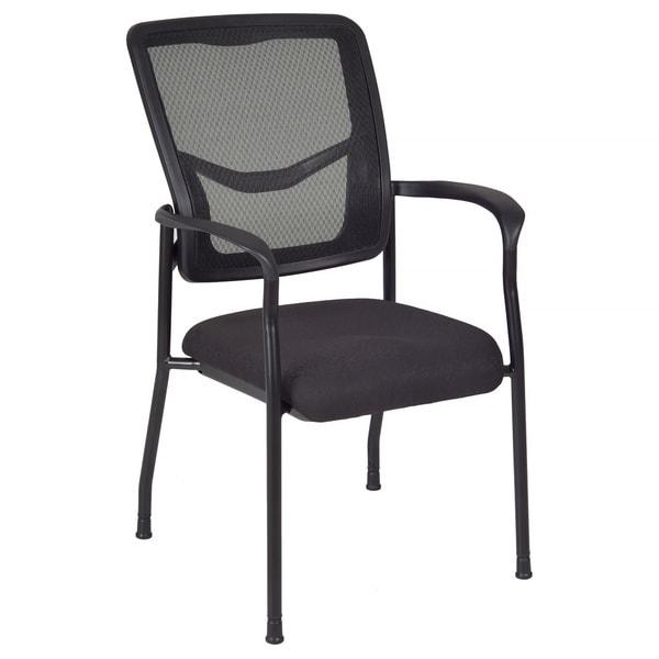 Kiera Black Mesh Side Chair