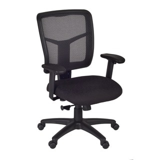 Kiera Black Mesh Back Swivel Chair