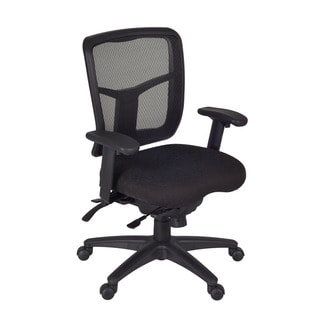 Kiera Black Multi-function Swivel Chair