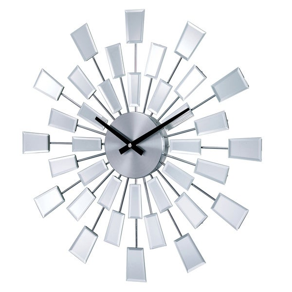 Hans Andersen Home Mirrored Pixels Clock