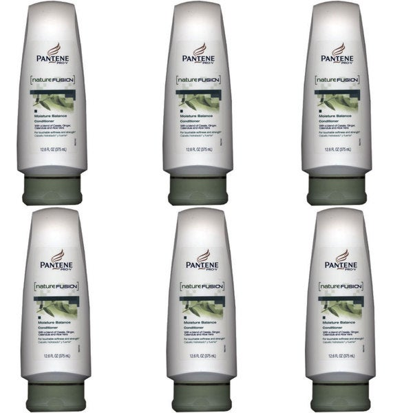 Pantene Pro-V Nature Fusion Moisture Balance 12.6-ounce Conditioner (Pack of 6)