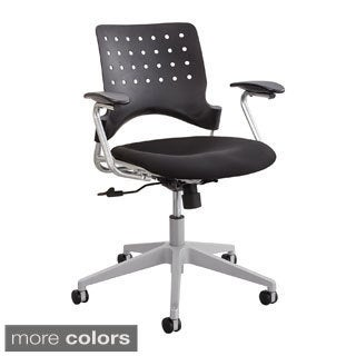 Reve Task Chair with Arms and Square Back