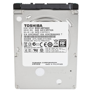 "Toshiba 500 GB 2.5"" Internal Hybrid Hard Drive - 8 GB SSD Cache Capac"