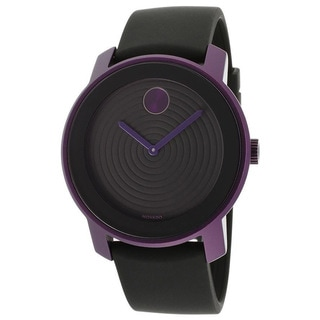Movado Bold 3600175 Black/ Purple Watch