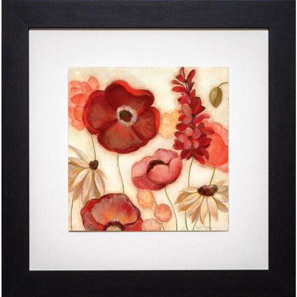Country Garden I' by Tava Studios Framed Art Print 12810994