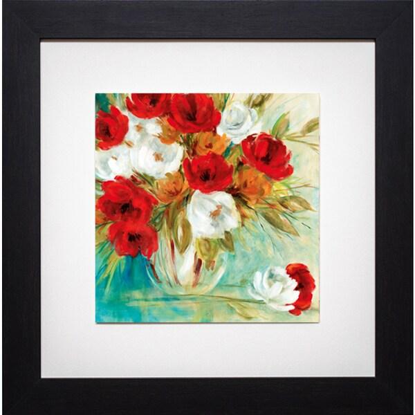 Vibrant Bouquet I' by Carol Robinson Framed Art Print 12810996