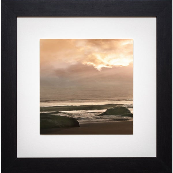 Malibu Sunrise' by Mike Calascibetta Framed Art Print