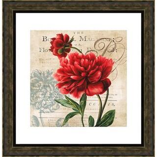 The Botanical MagOSine' by Carol Robinson Framed Art Print