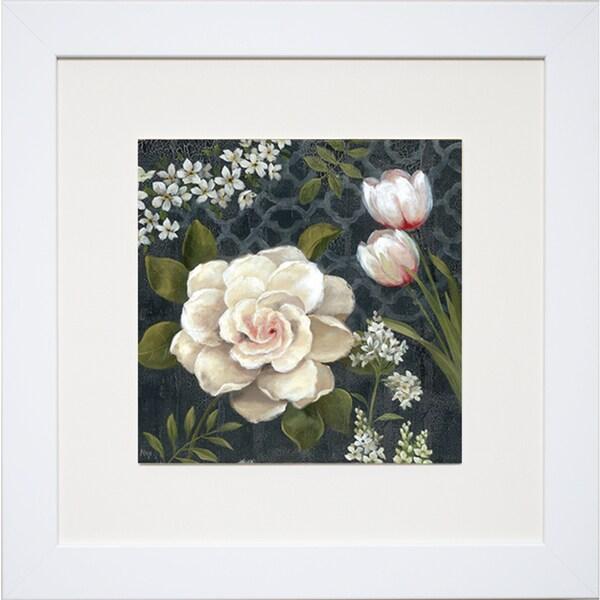 Midnight Garden I' by Nan Framed Art Print